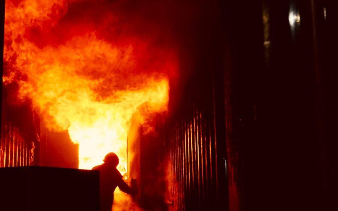HOTdays 2018 – Training unter realen Brandbedingungen absolviert