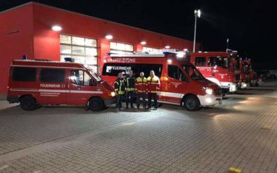 """""""Nachbarschaftshilfe"""" bei der Feuerwehr Gehrden (Region Hannover)"""