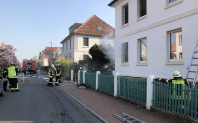 Einsatzübung: Wohnhausbrand