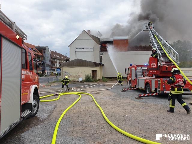 Feuer – Dachstuhlbrand