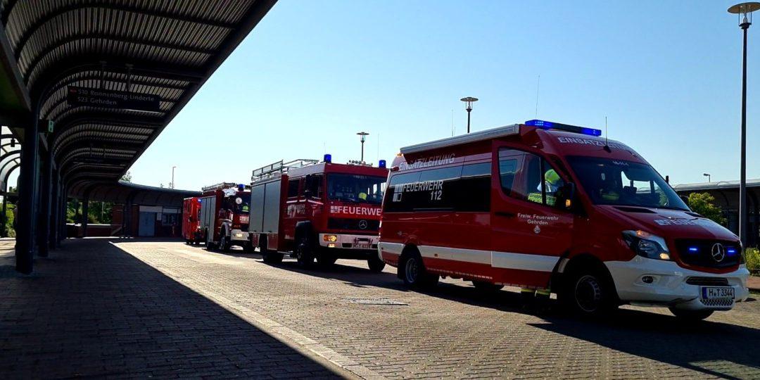 Feuer – Bus-Brand