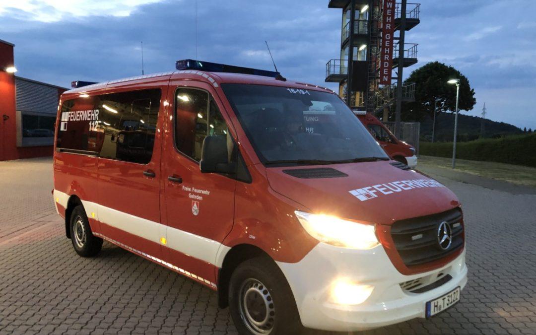 Neues Mehrzweckfahrzeug für den Einsatzdienst