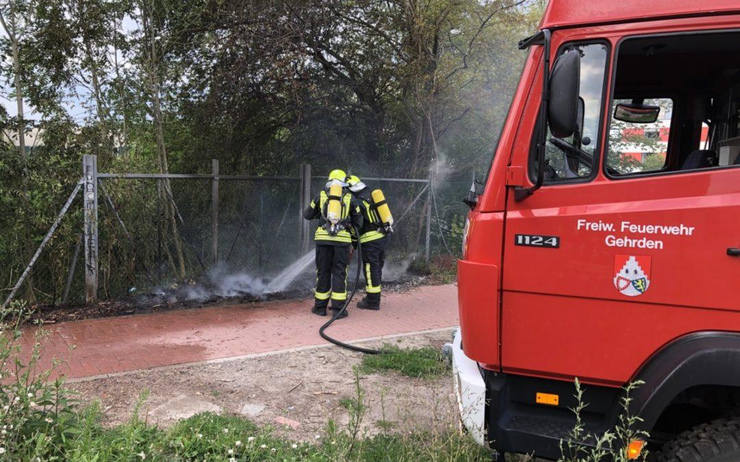Feuer – Gebüschbrand