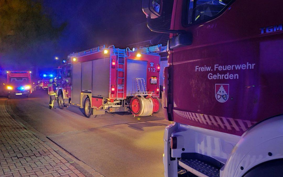 Feuer – ausgelöster Rauchwarnmelder