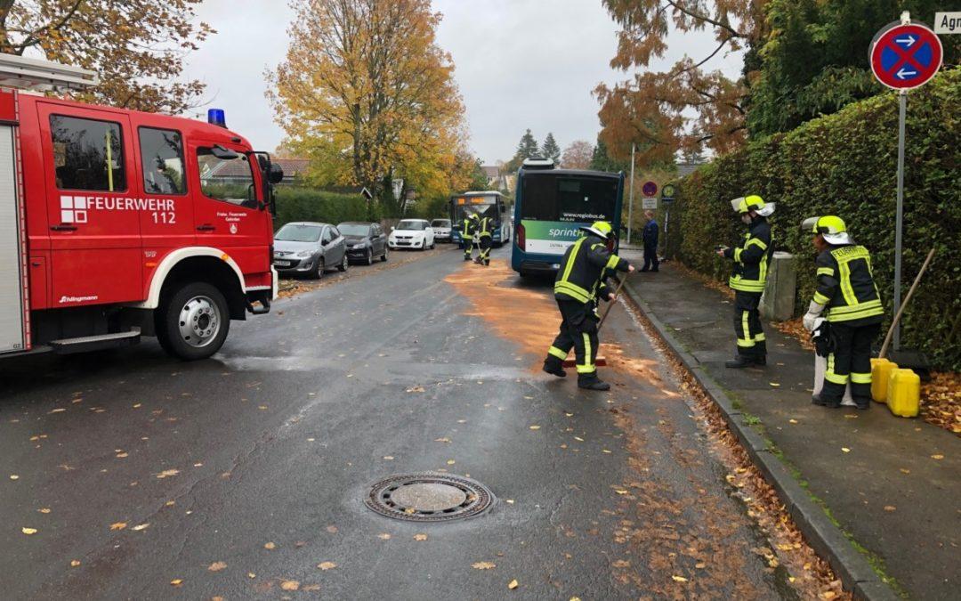 Hilfeleistung – Dieselkrafstoff ausgelaufen