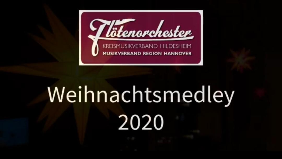Weihnachtsmedley des Flötenorchesters Kreismusikverband Hildesheim Musikverband Region Hannover