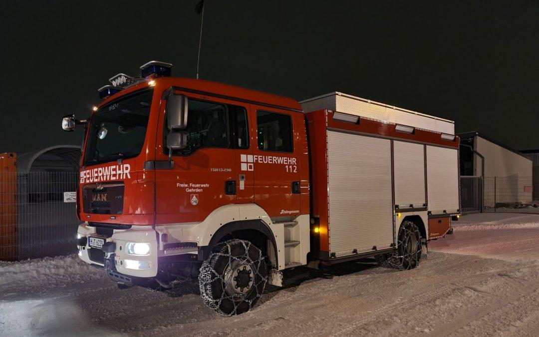 Wintereinbruch erschwert die Arbeit der Feuerwehr – Bürger können unterstützen