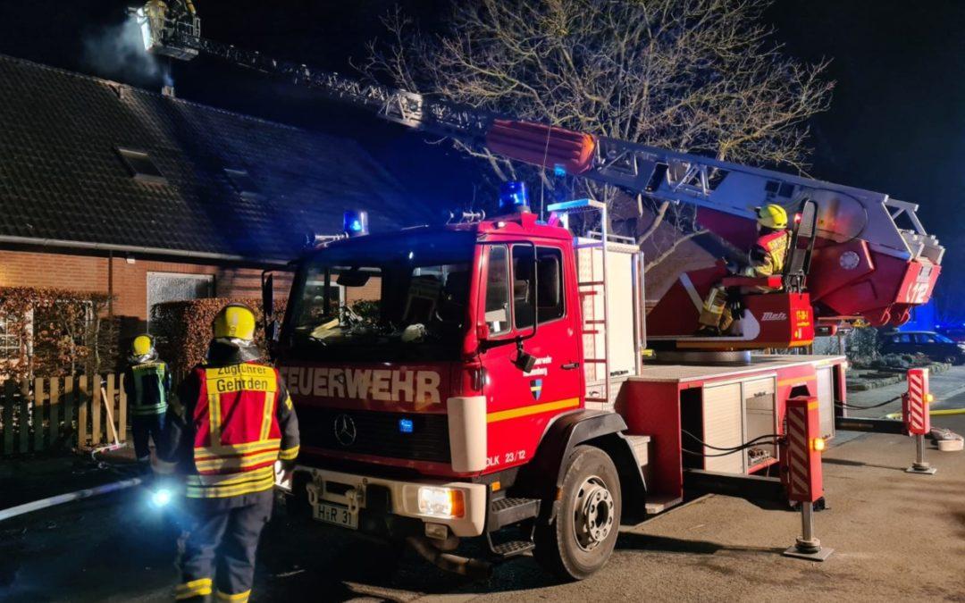 Feuer – Schornsteinbrand