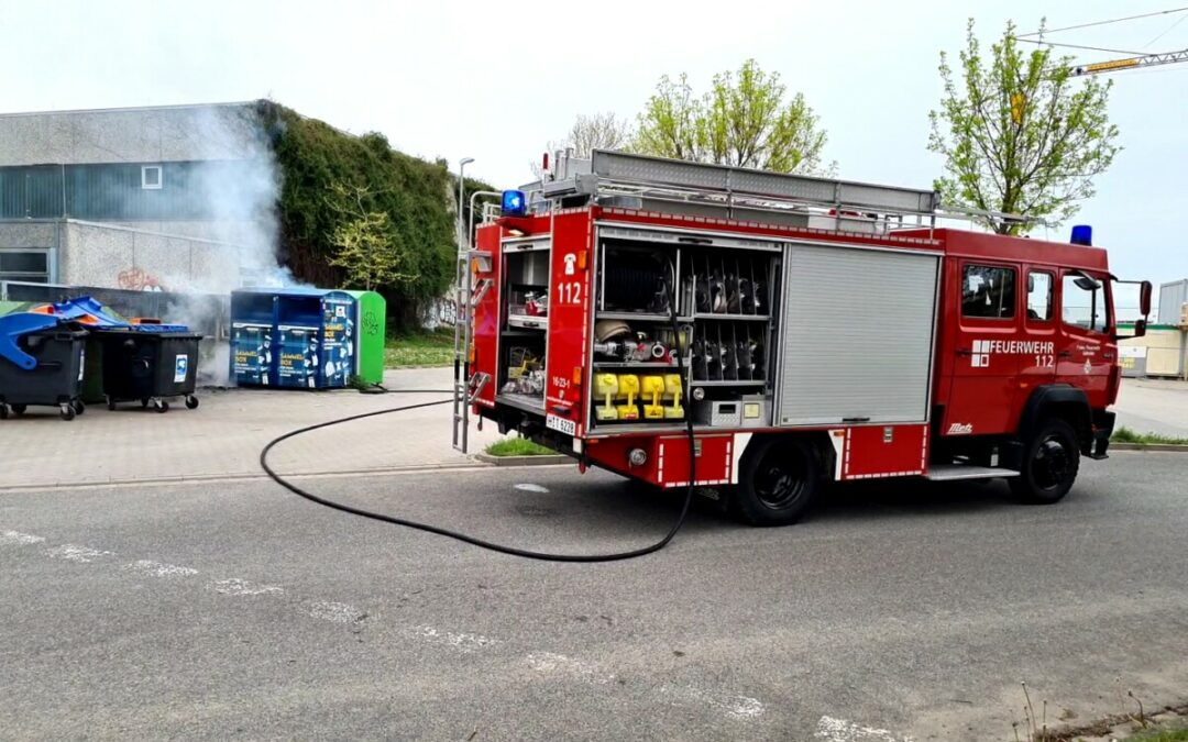 Feuer – Containerbrand