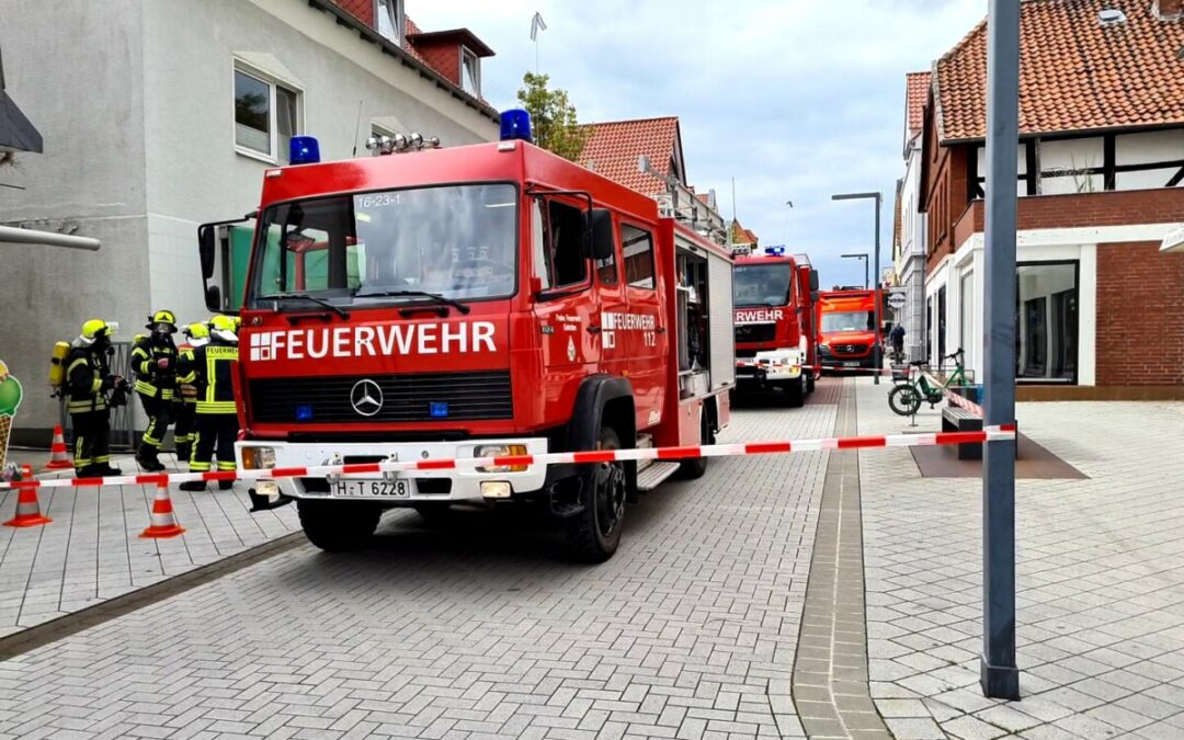 Feuer – brennende Fritteuse