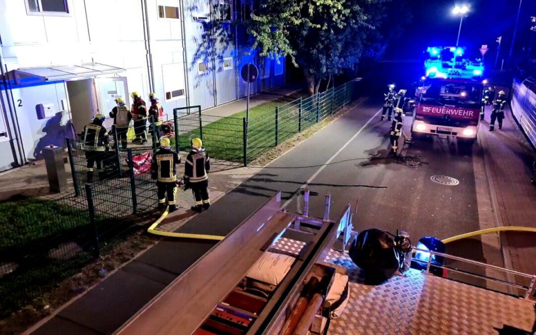 Feuer – ausgelöste Brandmeldeanlage/Rauchentwicklung