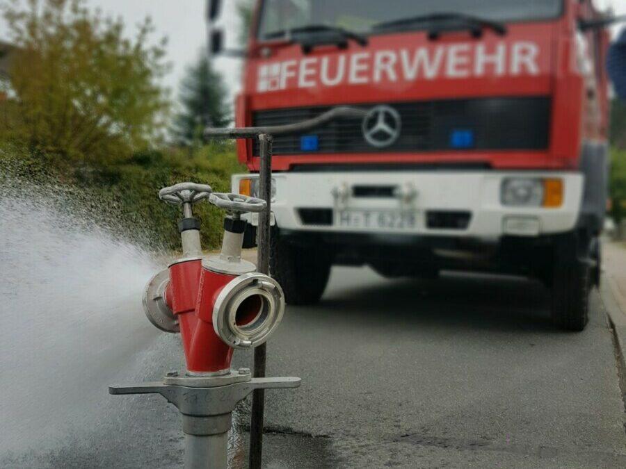 Überprüfung der Löschwasserhydranten
